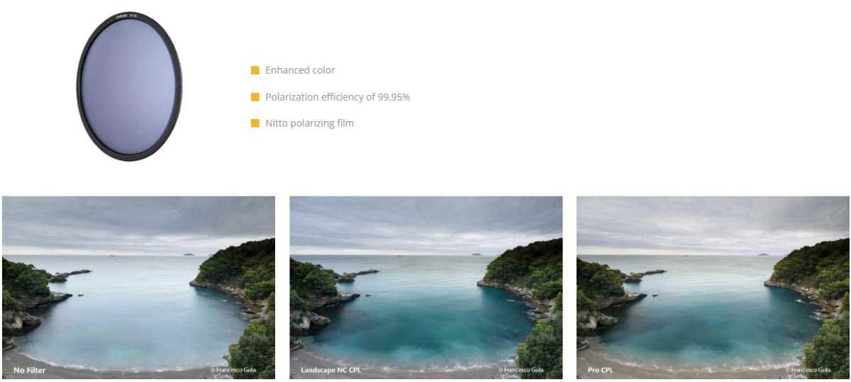 Polarizador NiSi Landscape