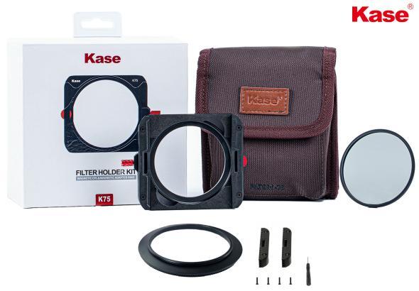 que incluye el portafiltros KASE K75