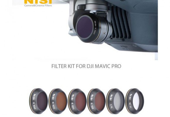 PROBANDO LOS FILTROS NISI PARA DRON MAVIC PRO