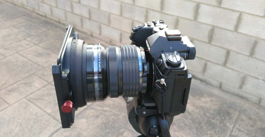 K8 adapter for Zuiko 7-14 lens